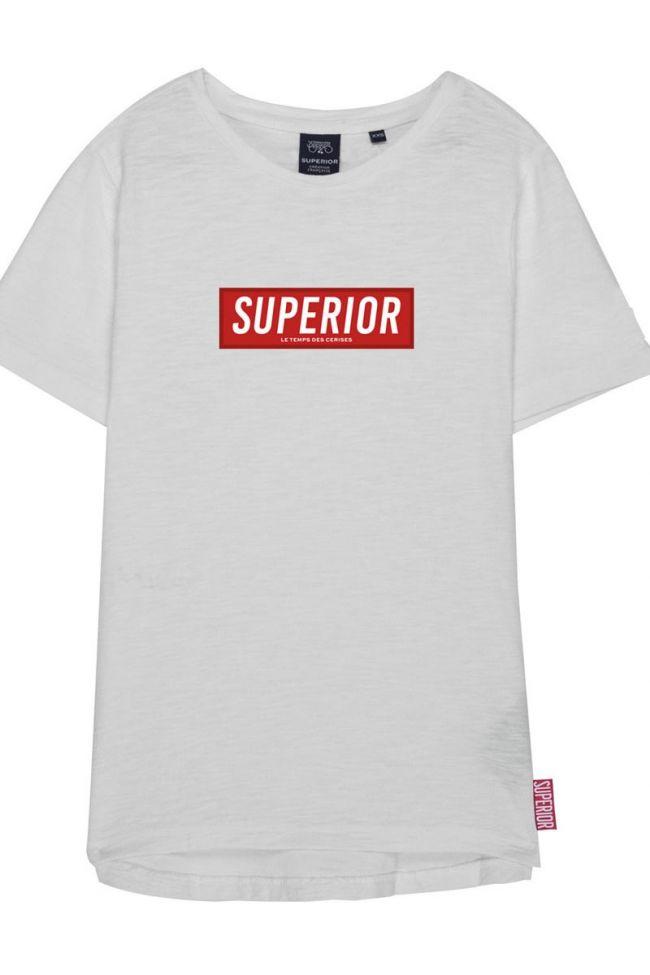 T-shirt Garçon Supbo blanc