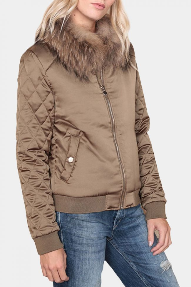 Pearly down jacket