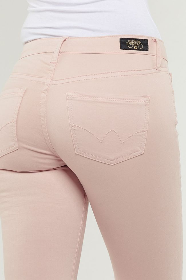 Jeans 300/16 Slim Rose pâle