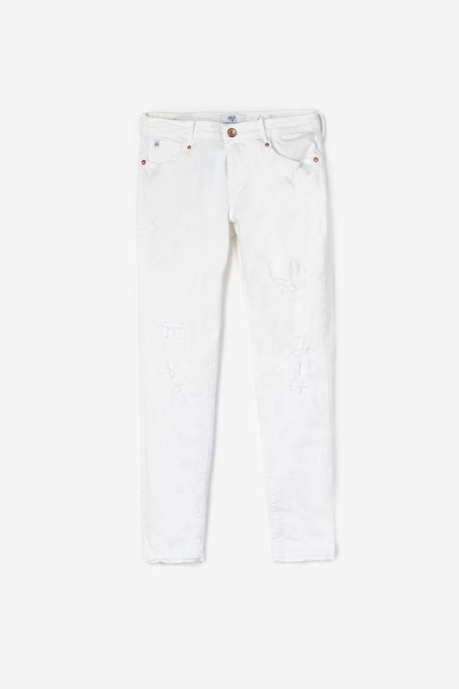 Jeans 300/16 destroy white