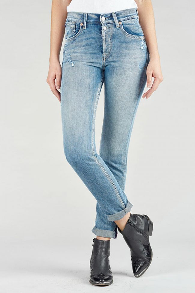 Jeans 400/16 mom slim bleu