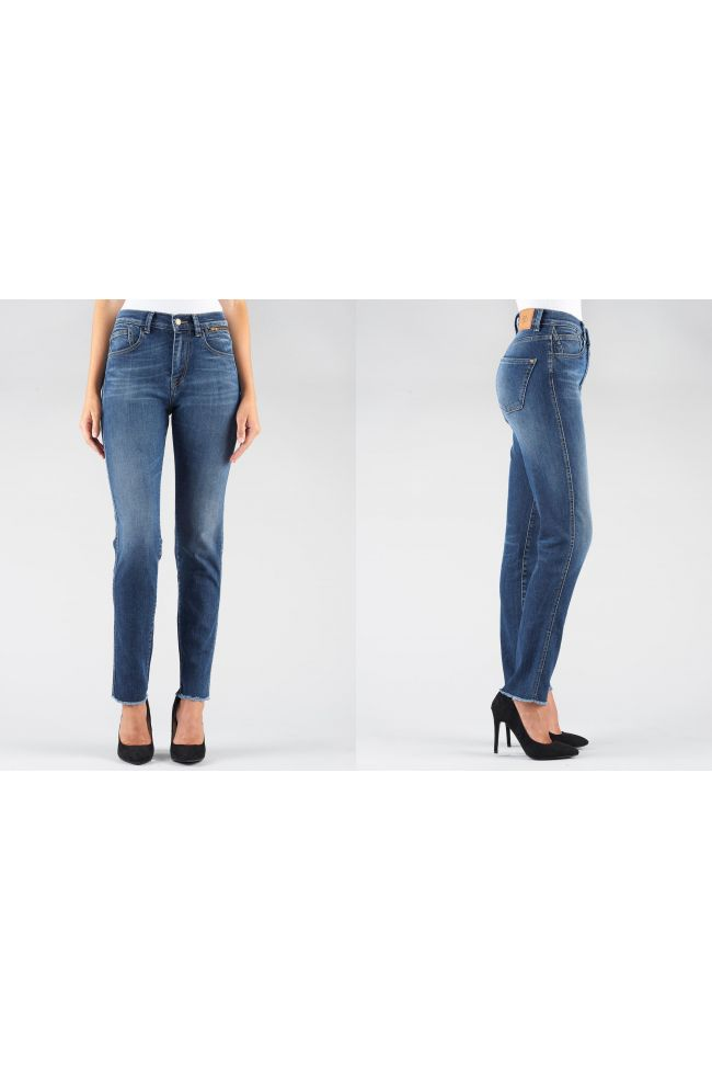 Jeans 400/16 Mom Bleu