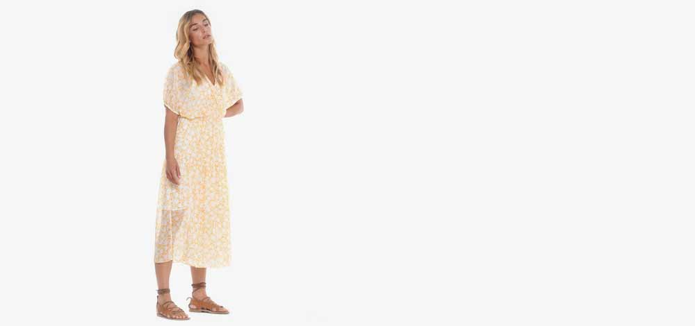 What shoes to wear with a long dress in summer?