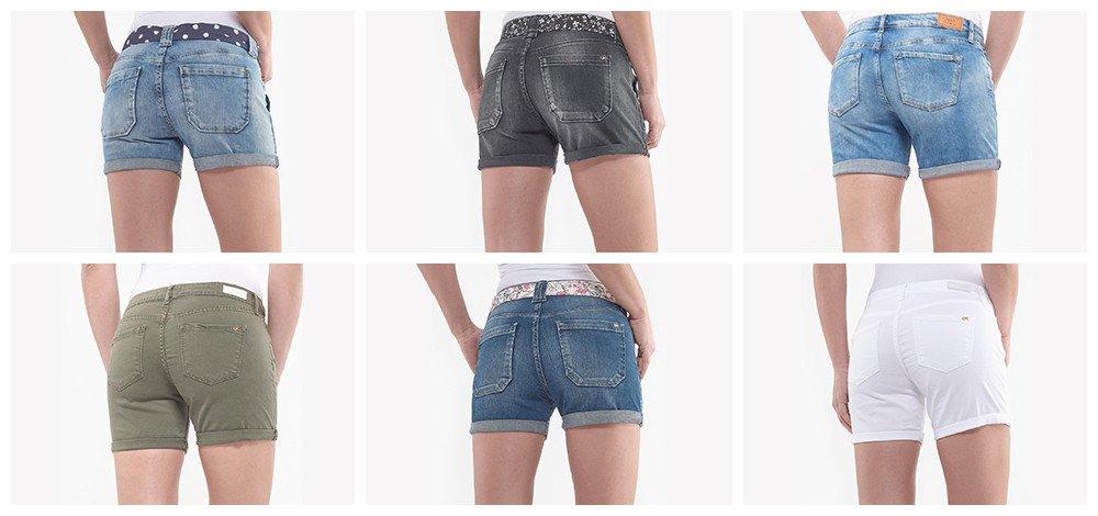 Mode femme : les différents types de short en jean