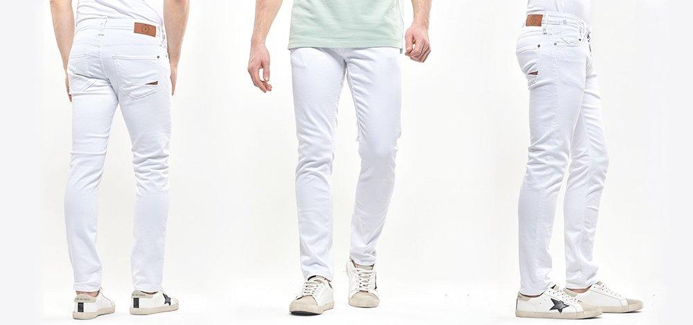 Comment porter le jean blanc homme ?