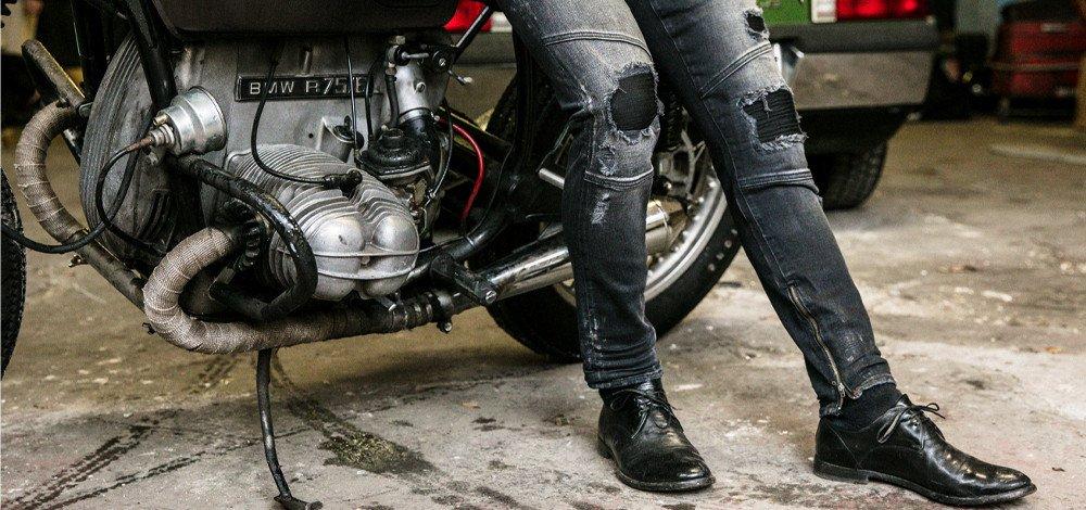 Comment porter le jean biker ?